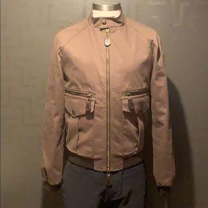 Burberry Canvas Bomber Jacket